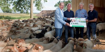 Cheque van TVM Foundation